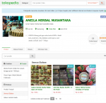 tokopedia jual sabun herbal aneila